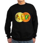 Candy Corn Venn Sweatshirt (dark)