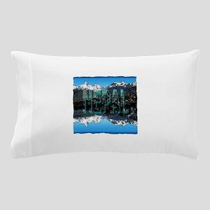 nepal mount everest art illustration Pillow Case