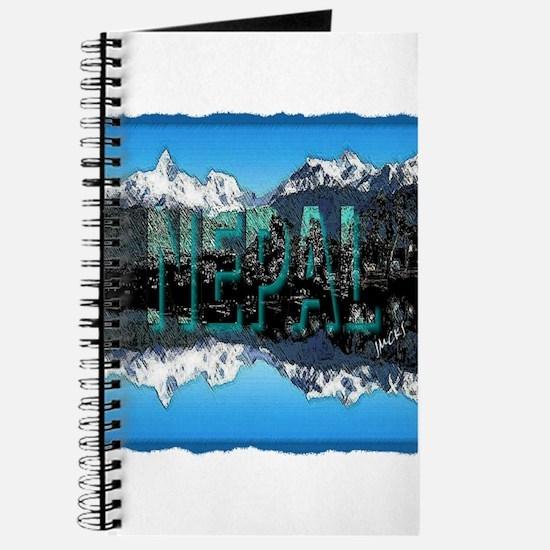 nepal mount everest art illustration Journal
