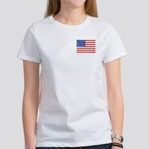 Watercolor USA Flag: Women's T-Shirt