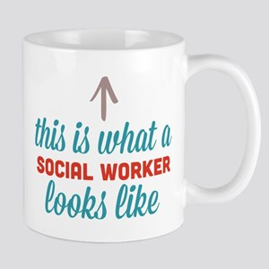 Social Worker Looks Like Mug