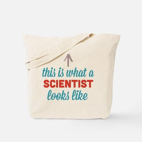 Scientist Looks Like Tote Bag