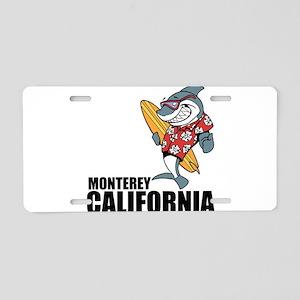 Monterey, California Aluminum License Plate