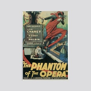 Phantom of the Opera 1925 Rectangle Magnet
