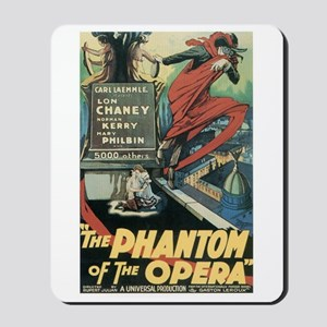 Phantom of the Opera 1925 Mousepad