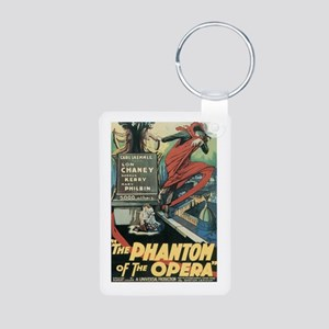 Phantom of the Opera 1925 Aluminum Photo Keychain