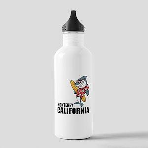 Monterey, California Water Bottle