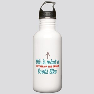 Father Of The Groom Stainless Water Bottle 1.0L