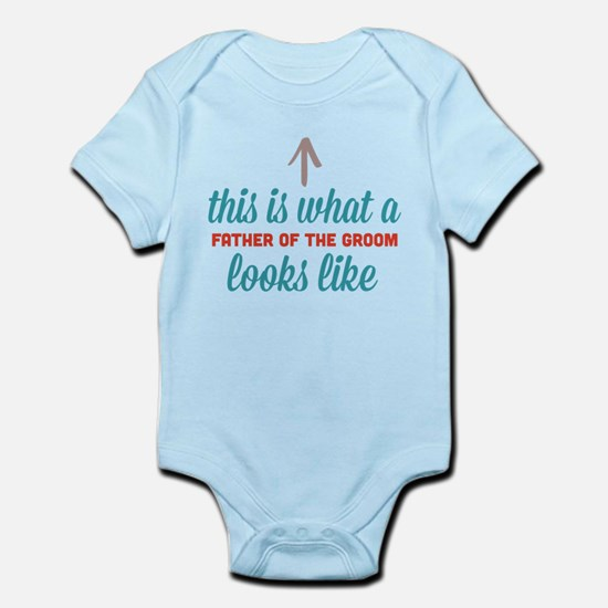 Father Of The Groom Infant Bodysuit