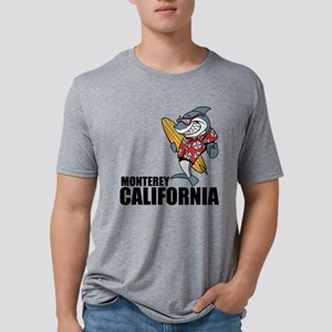 Monterey, California Mens Tri-blend T-Shirt