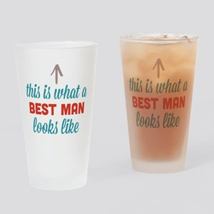Best Man Looks Like Drinking Glass