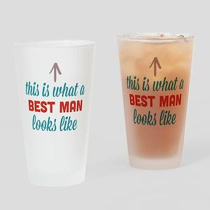 Best Man Looks Like Drinking Glass