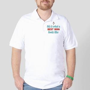Best Man Looks Like Golf Shirt