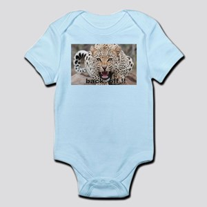 angry cheetah Infant Bodysuit