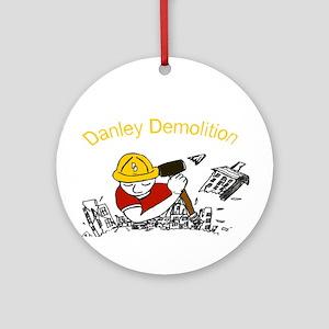 Danley Demolition Man Ornament (Round)