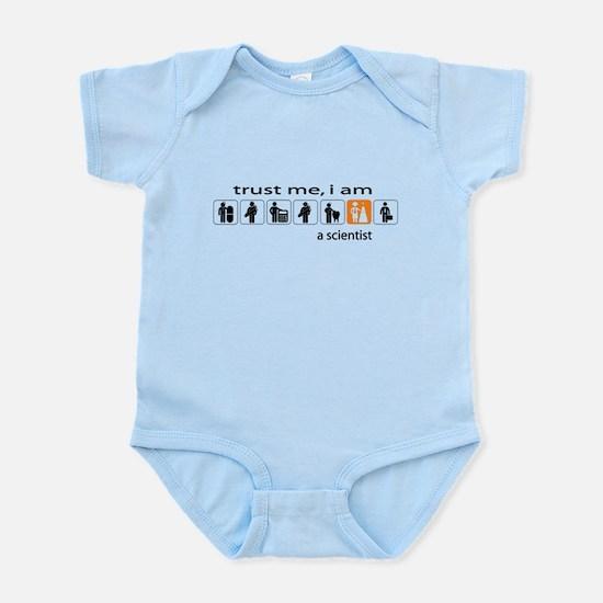 Trust me, I am a scientist Infant Bodysuit