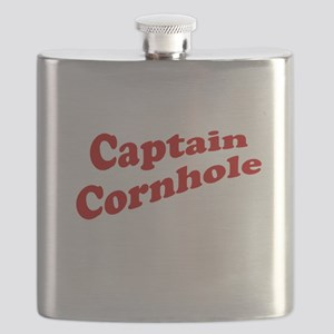Captain Cornhole Flask