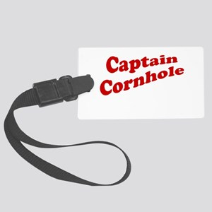 Captain Cornhole Large Luggage Tag