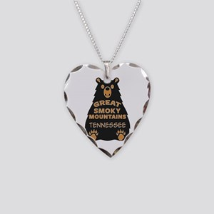 Great Smoky Mountains Nationa Necklace Heart Charm