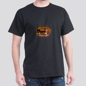 North Dakota Party Animal Dark T-Shirt