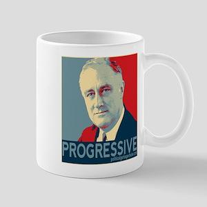 """FDR - """"PROGRESSIVE"""" Mug"""
