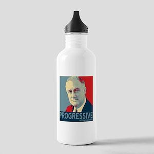 """FDR - """"PROGRESSIVE"""" Stainless Water Bottle 1.0L"""