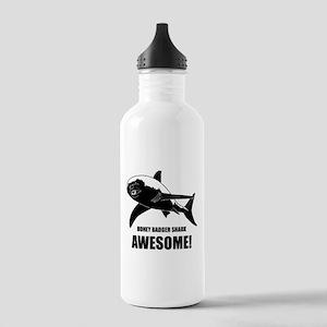 Honey Badger Shark Stainless Water Bottle 1.0L