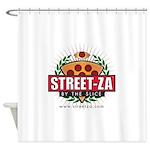 streetzamerchandisefinal Shower Curtain