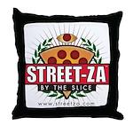 streetzamerchandisefinal Throw Pillow