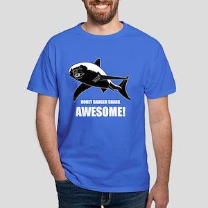 Honey Badger Shark Dark T-Shirt