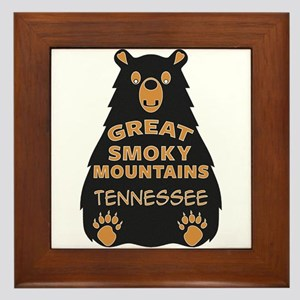 Great Smoky Mountains National Park Te Framed Tile