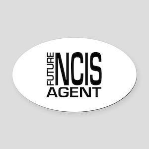 Future NCIS agent Oval Car Magnet