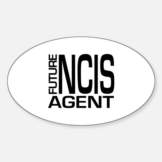 Future NCIS agent Sticker (Oval)