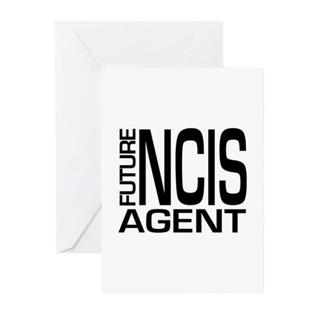 Future NCIS agent Greeting Cards (Pk of 20)