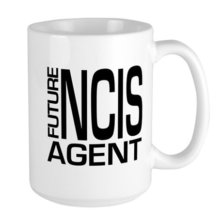 Future NCIS agent Large Mug