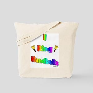 I Ring Handbells Tote Bag