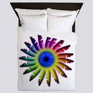 Angel Feathers Flower Queen Duvet
