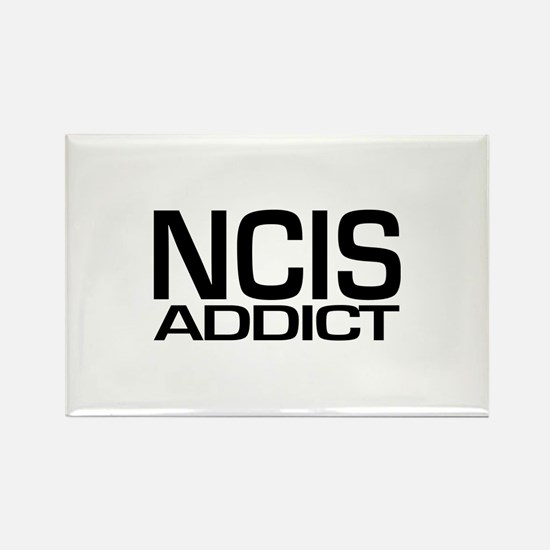 NCIS addict Rectangle Magnet