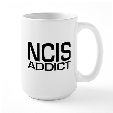 NCIS addict Large Mug