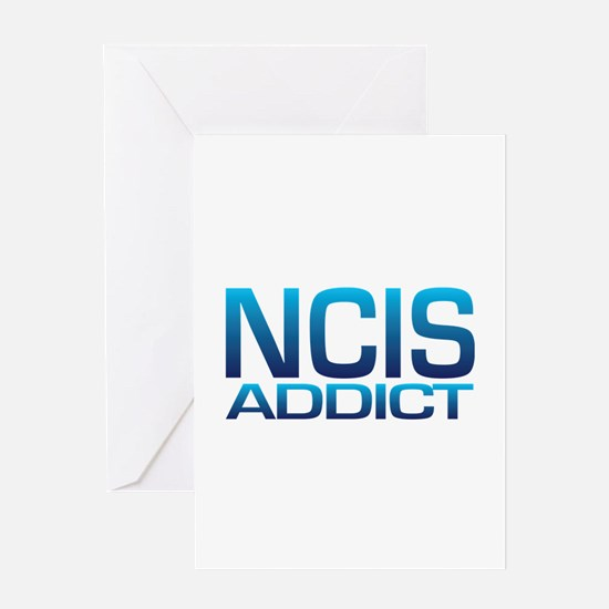 NCIS addict Greeting Card