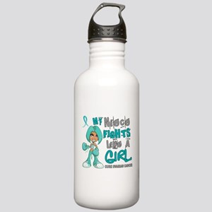 Fights Like a Girl 42.9 Ovarian Cancer Stainless W