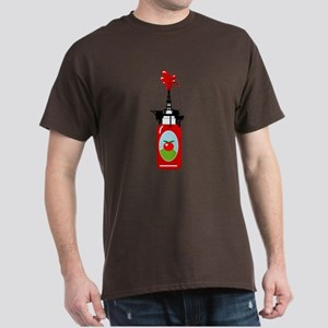 Drilling for Ketchup Dark T-Shirt