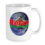 Relax Earth Large Mug
