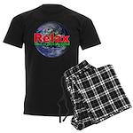 Relax Earth Men's Dark Pajamas
