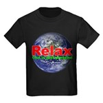 Relax Earth Kids Dark T-Shirt