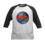 Relax Earth Kids Baseball Jersey
