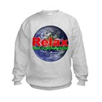Relax Earth Kids Sweatshirt