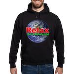 Relax Earth Hoodie (dark)
