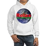 Relax Earth Hooded Sweatshirt