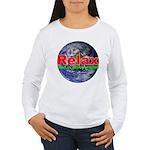 Relax Earth Women's Long Sleeve T-Shirt